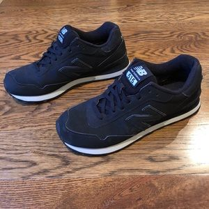 Men's New Balance 515 black with white accents